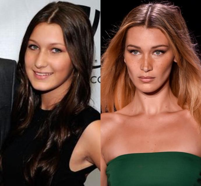 Is it just me or is Bella Hadid actually ugly?