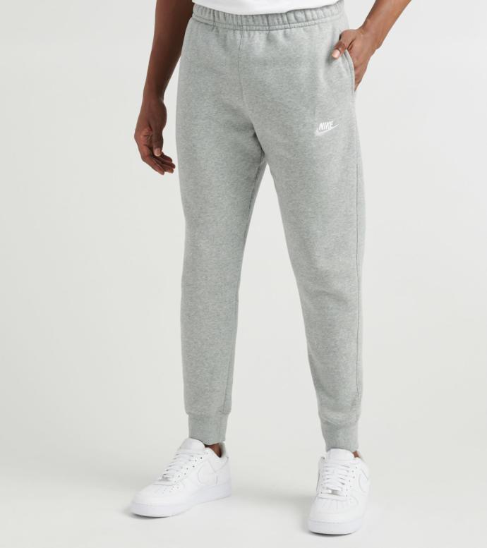 Do grey sweatshorts have the same impact on girls as grey sweatpants?