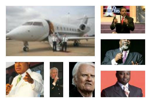 Whats your opinion of financially rich ministers?