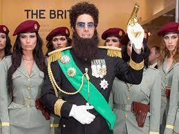 "Sacha Baron Cohen's ""The dictator"""