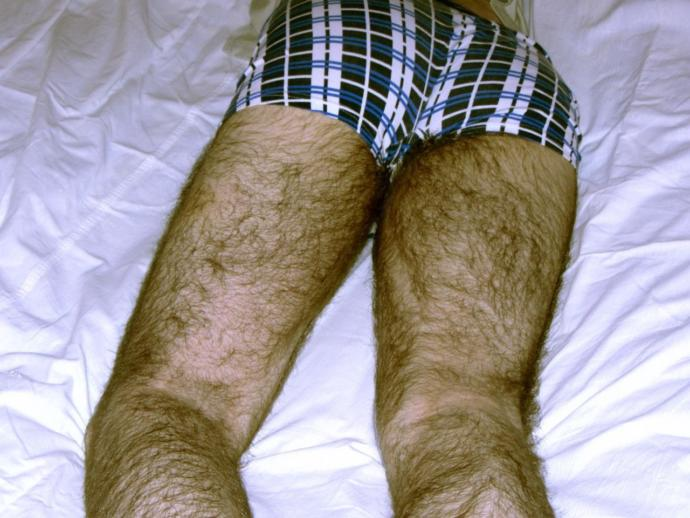 Is it better for a guy to have super hairy legs or to shave it all off completely?
