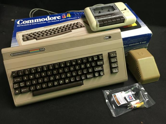 Who here owned a Commodore 64 Computer?