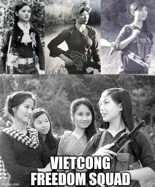 Vietcong women did they prove that girls can be good soldiers too?