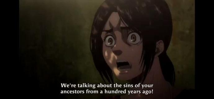 Do you think Gabi from attack on Titan is basically the same as a woke social Justice Warrior?