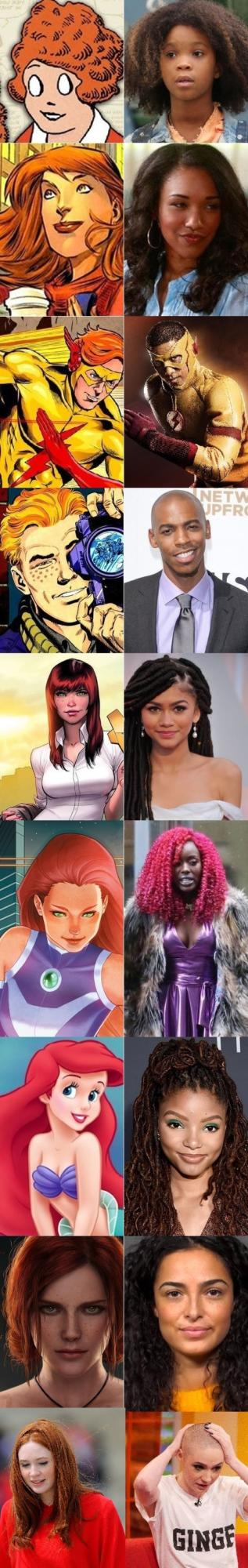 Seriously, why TF does Hollywood hate Gingers so much?