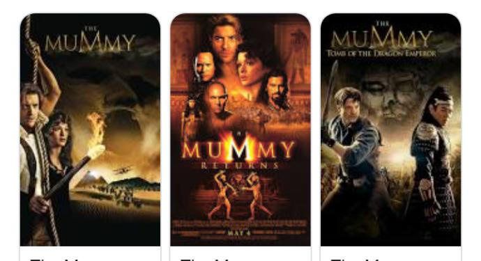 Which of the mummy fiims do you think is the best one?