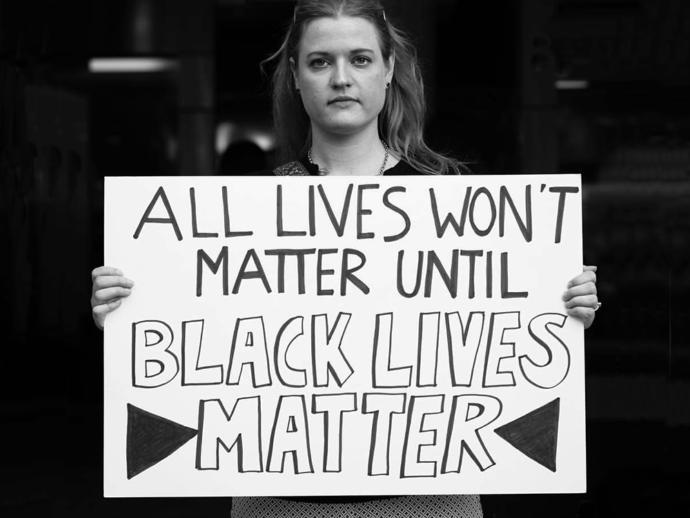 """Do you realize that saying """"all lives matter"""" is racist?"""