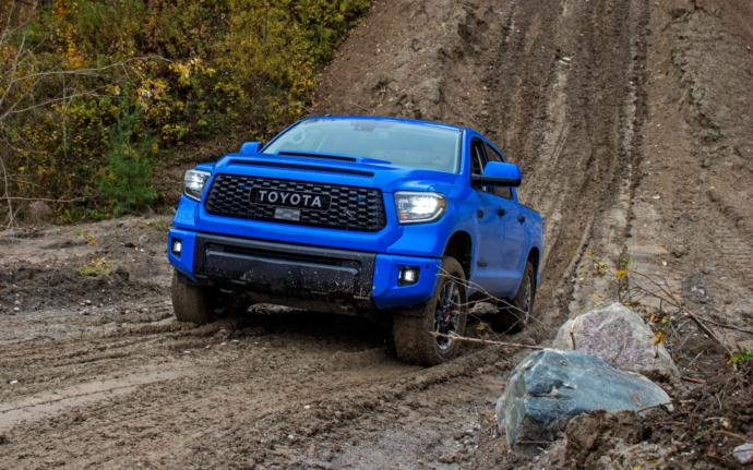Which of these two Toyota Trucks do like more?