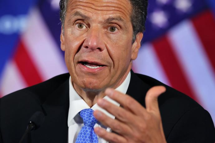 Thoughts on New York Governor Andrew Cuomo crossing the line with unwanted sexual advances towards women?