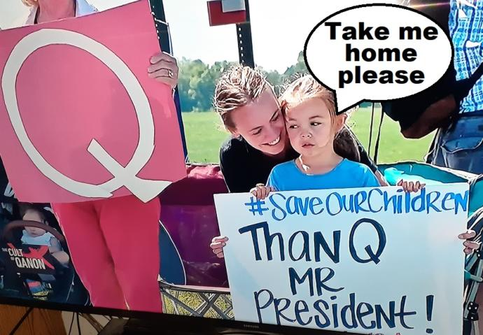 Would You Let QAnon Babysit Your Children?
