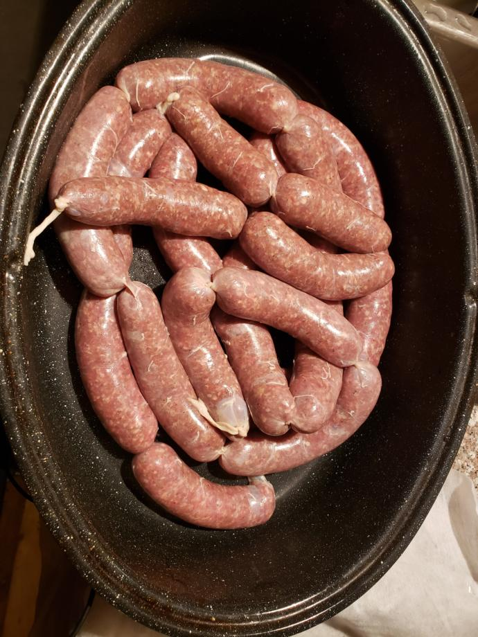 Made my first venison sausage what do you think?