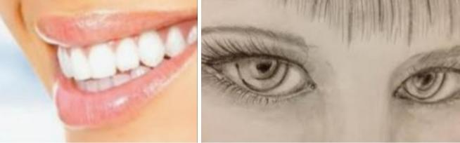 What gets you more: a great smile or piercing eyes?