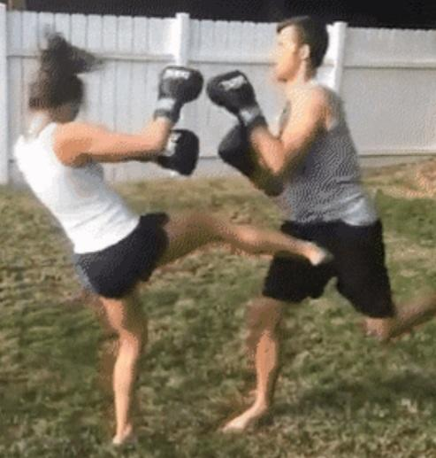 Do you think if fighting was mixed sexes women would win?