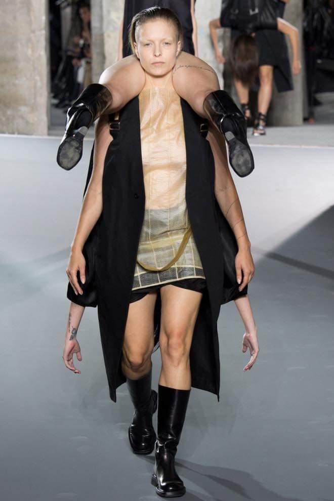What do you think of Rick Owens spring collection runway 2021 ?
