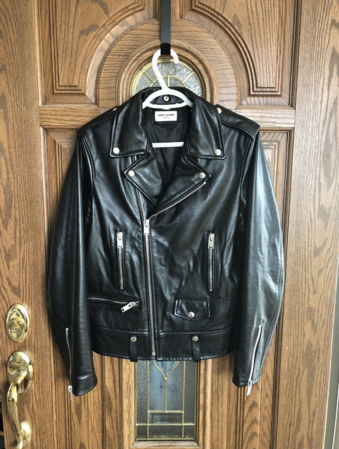 Should I save to buy a $2000 Saint Laurent leather jacket or buy a very similar replica with similar materials that costs $800?