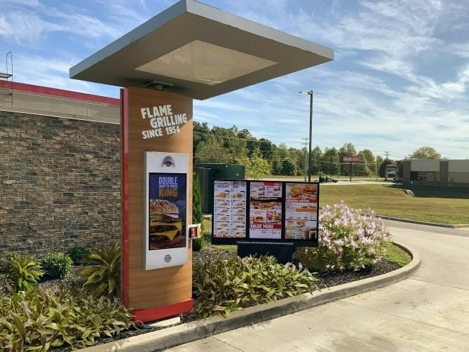 When you order food in a drive through, do you thank the person who took your order?