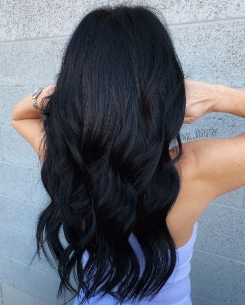 Black Hair vs Plum Hair on Girls?