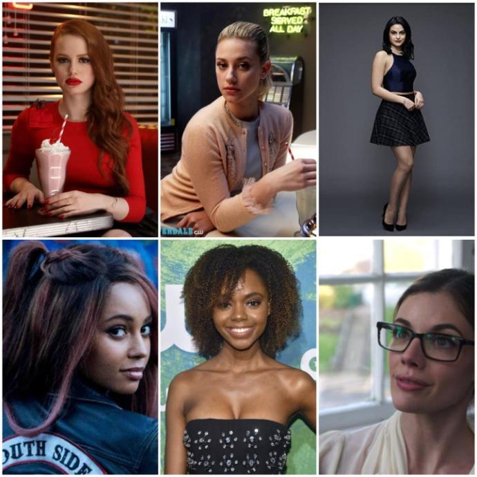 Who is the hot girl 🔥of riverdale?