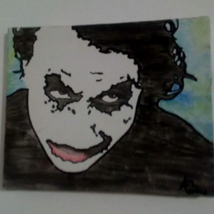 One of my latest paintings, what do you think who should I paint next?