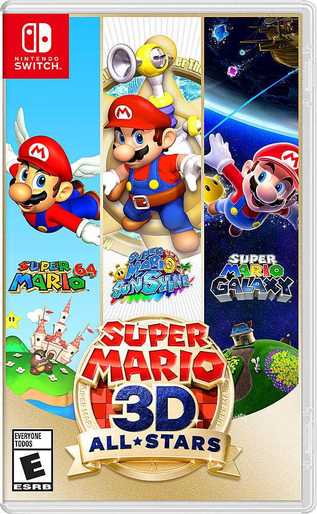 It's Mario 64, Mario Sunshine and Mario Galaxy in one