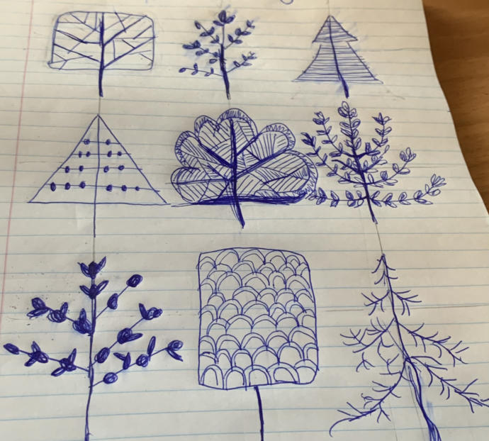 How do you feel about the trees I drew?