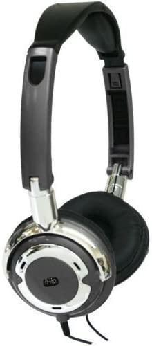 iHip IP-POPMETAL-P 90 Degree Swivel DJ-Style Headphone