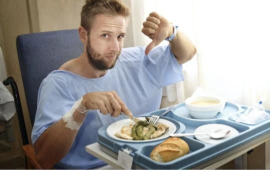 Food Battle Which Is Worse: School Lunches Or Hospital Food?