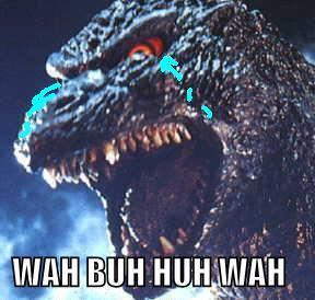If Godzilla really wanted to hug you would you let him?