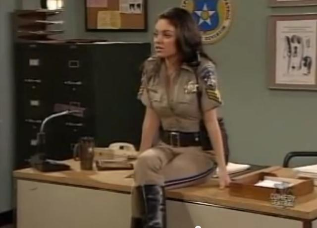 Do You Want Mila Kunis To Arrested You In This Outfit?