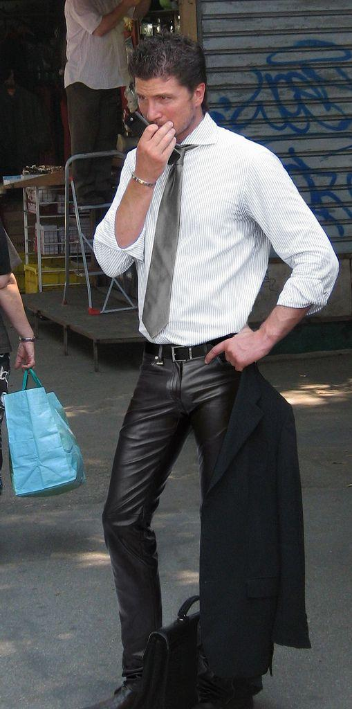 Do You Think Wearing Leather Pants To Your Work Is Fine Or Not?