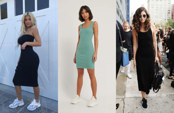 I think the turquoise dress is amazing!