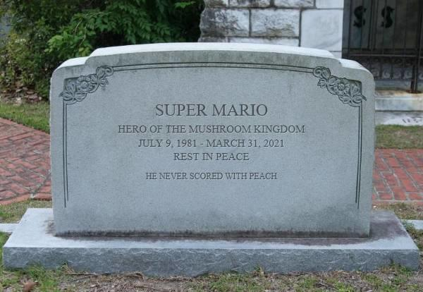 Did you know Mario died?