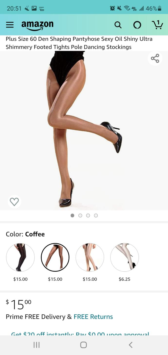 Any thoughts on these pantyhose?