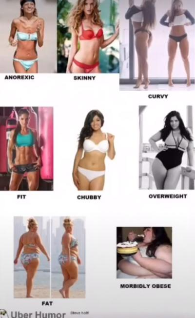 Curvy what type mean body does Omni Calculator