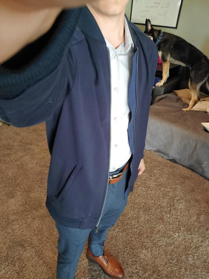 Is this attractive casual/ business casual clothing for someone in their mid-twenties?
