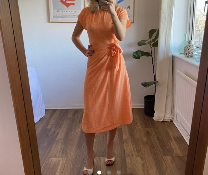 Is this outfit cute for a informal evening wedding invite?