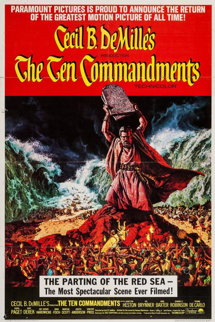 Who is going to be watching The Ten Commandments this Easter?