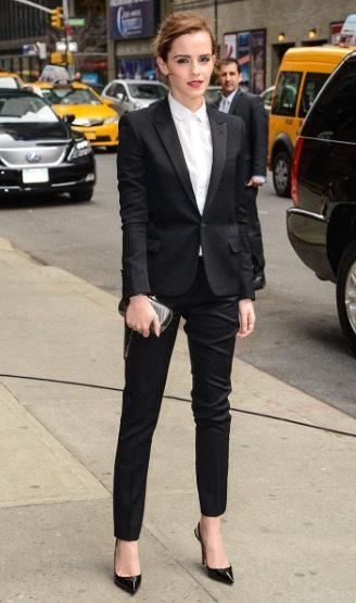 Why can't men rock dresses as good as women can rock suits? Is women's attraction more versatile than men's?