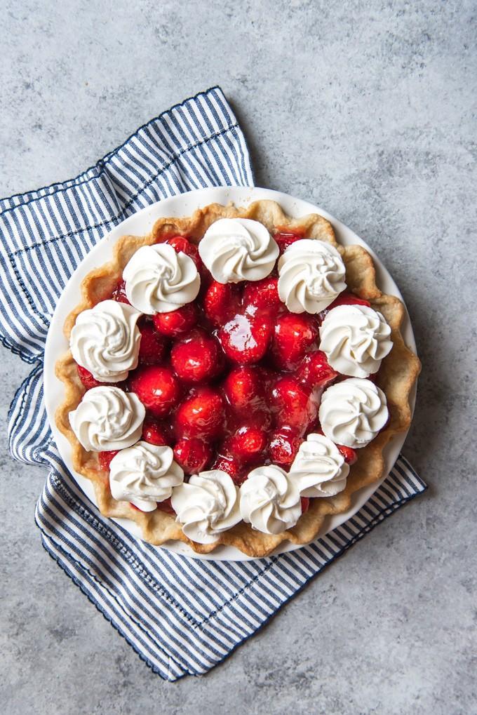 Do you like strawberry pie?