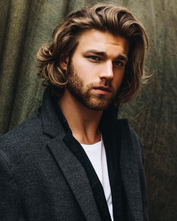 How do you feel about long hair on men?