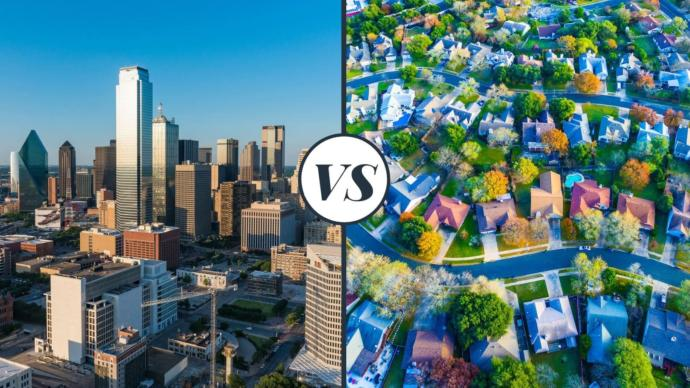 What do you prefer to live in: the inner city or the suburbs? And why?