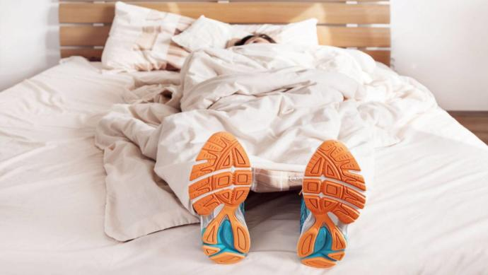 Would you sleep with your shoes on for $50?