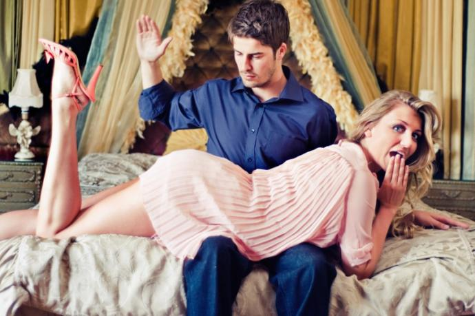 Would you spank your partner if they were being bratty or bad?