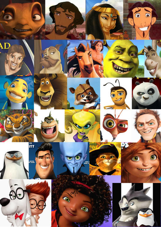 Do you know about the DREAMWORKS FACE? And how would you feel if someone made it to you?