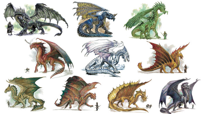If YOU were a Dragon which of these seven breath weapons would you like to have?