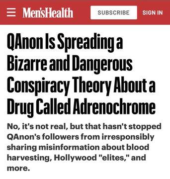 When conspiracy theorists say something and it comes true, do you still think that all of them are paranoid nutcases?