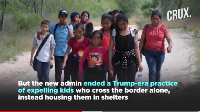 What are your thoughts on the migrant children near the Mexican border (new video)?
