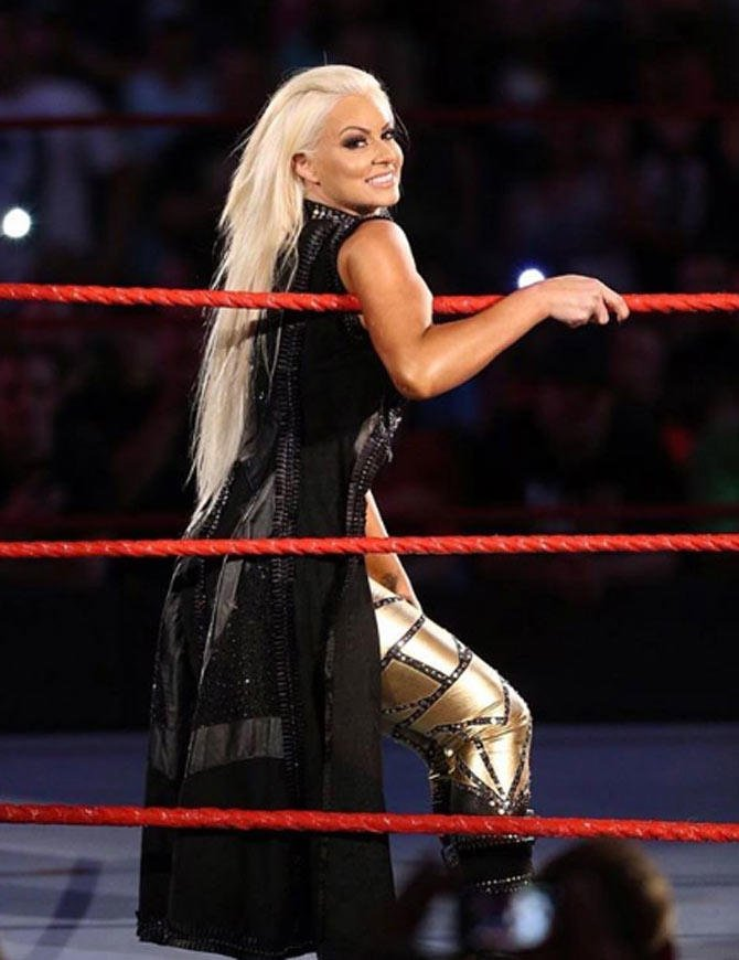 Greatest Of All Time ( Wrestling Edition ) - ( 8 ) Maryse vs. ( 9 ) Tamina - ?