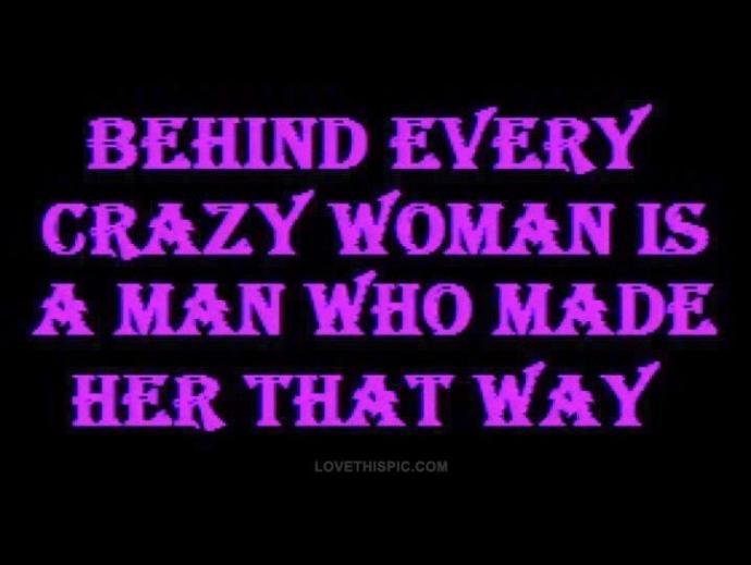 Can men make women less crazy?
