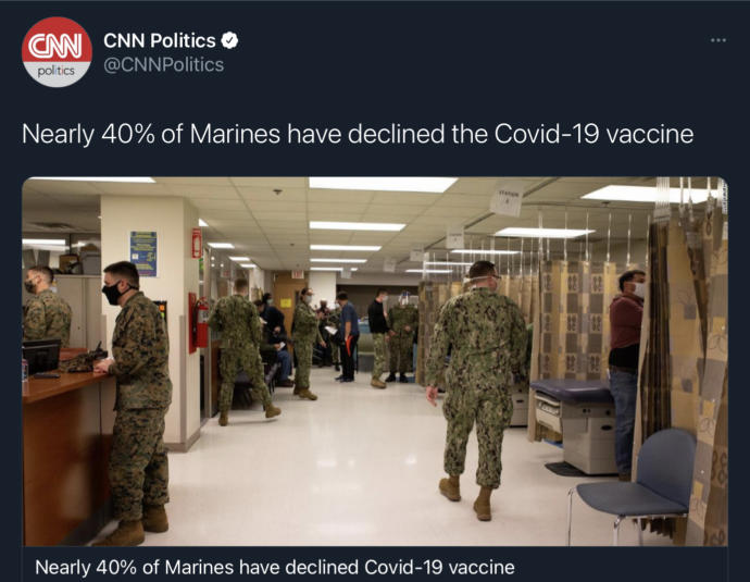 What if soldiers are ordered to take the Vaccine?